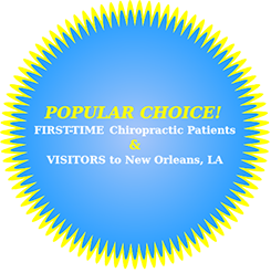 Dr. Rueben Carter is the chiropractor New Orleans chooses for optimal whole body function and relief.
